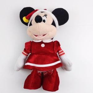Minnie Mouse Disney Musical Elf Merry Christmas